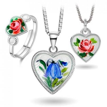 Roser og blåklokker